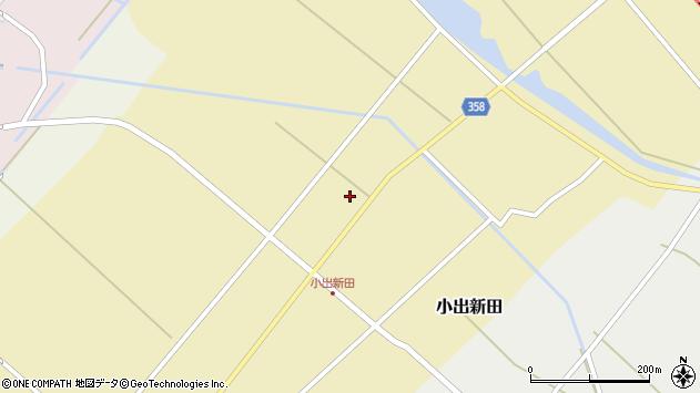山形県東田川郡庄内町小出新田苧畑割30周辺の地図