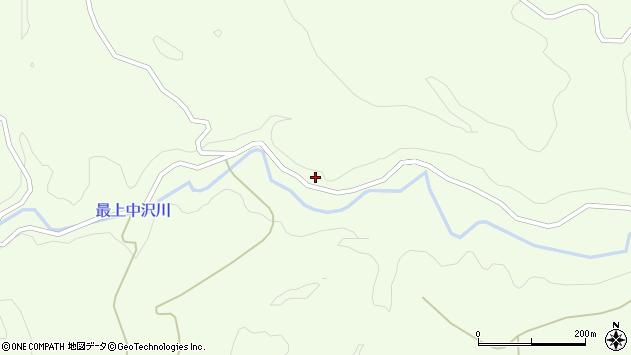山形県最上郡鮭川村曲川3340周辺の地図