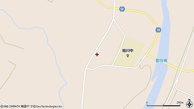 山形県最上郡鮭川村庭月2531周辺の地図