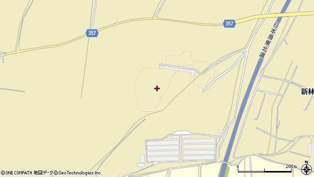 山形県酒田市浜中新林246周辺の地図