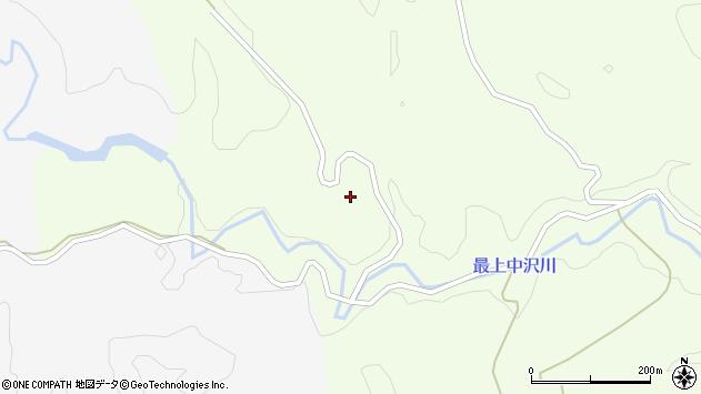 山形県最上郡鮭川村曲川土倉周辺の地図