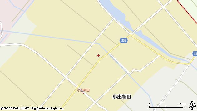 山形県東田川郡庄内町小出新田苧畑割25周辺の地図