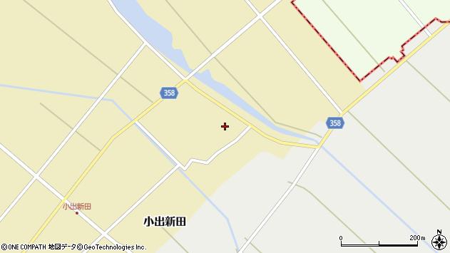 山形県東田川郡庄内町小出新田村北165周辺の地図