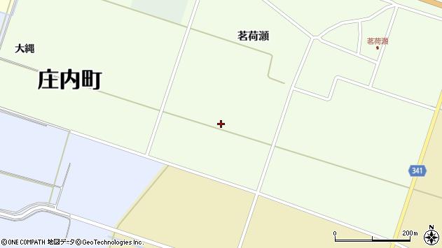 山形県東田川郡庄内町茗荷瀬仲縄周辺の地図