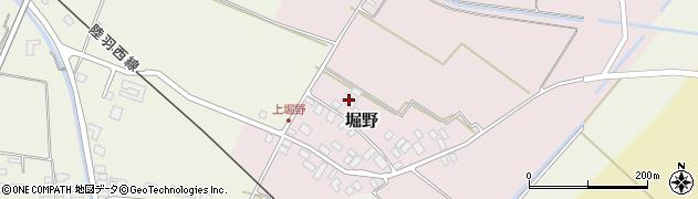 山形県東田川郡庄内町堀野上堀野52周辺の地図