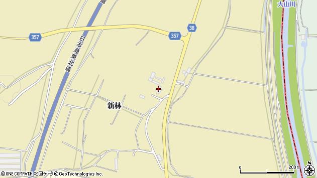 山形県酒田市浜中船付場32周辺の地図