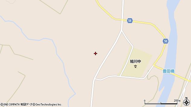 山形県最上郡鮭川村庭月2573周辺の地図