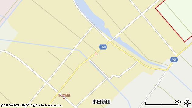 山形県東田川郡庄内町小出新田村北79周辺の地図