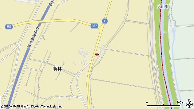 山形県酒田市浜中稗畑31周辺の地図