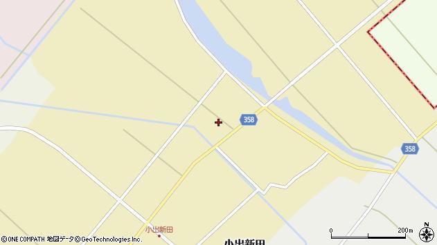 山形県東田川郡庄内町小出新田村北78周辺の地図
