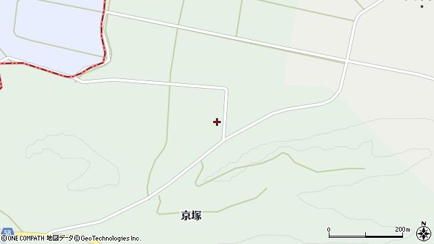 山形県最上郡鮭川村京塚4480周辺の地図