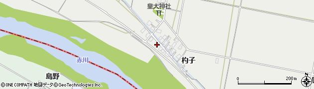 山形県酒田市広野杓子58周辺の地図