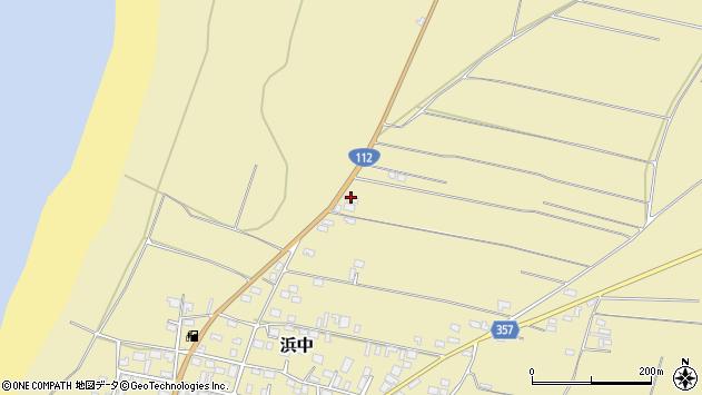山形県酒田市浜中村北分散126周辺の地図