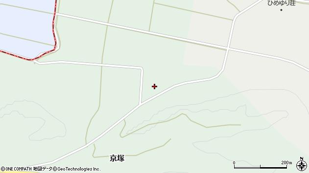 山形県最上郡鮭川村京塚4554周辺の地図