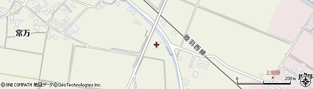 山形県東田川郡庄内町余目新田樋向4周辺の地図