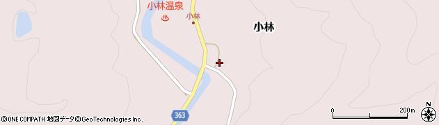 山形県酒田市小林杉沢80周辺の地図