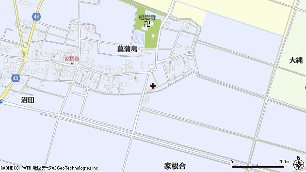 山形県東田川郡庄内町家根合沼田29周辺の地図