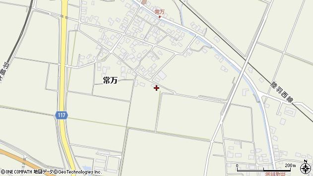 山形県東田川郡庄内町常万常岡21周辺の地図