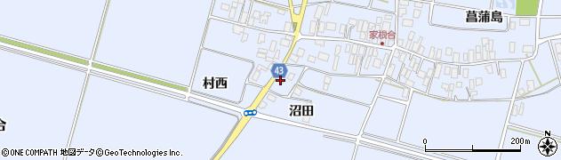 山形県東田川郡庄内町家根合沼田92周辺の地図