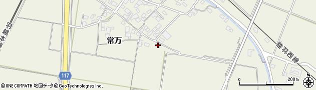 山形県東田川郡庄内町常万常岡20周辺の地図