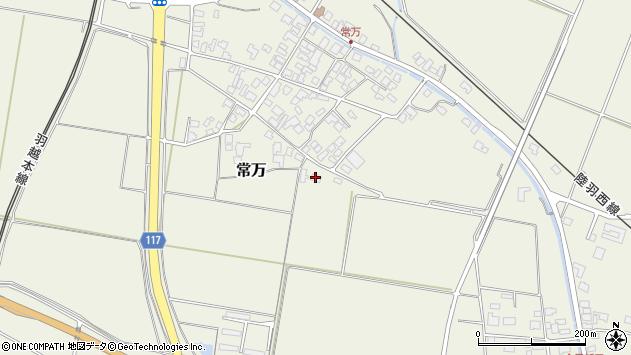 山形県東田川郡庄内町常万常岡19周辺の地図