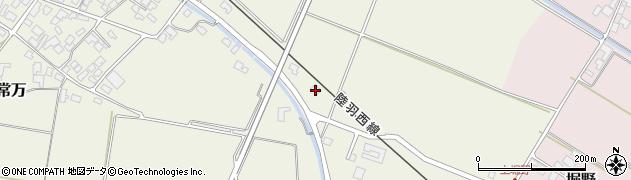 山形県東田川郡庄内町余目新田上北86周辺の地図