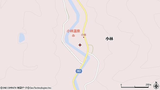 山形県酒田市小林杉沢117周辺の地図