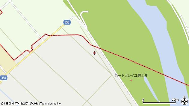 山形県東田川郡庄内町連枝新割周辺の地図