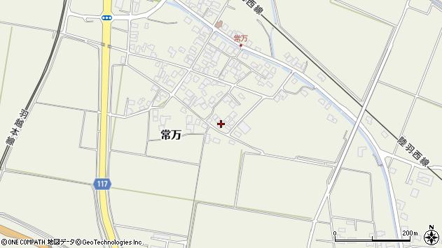 山形県東田川郡庄内町常万常岡39周辺の地図
