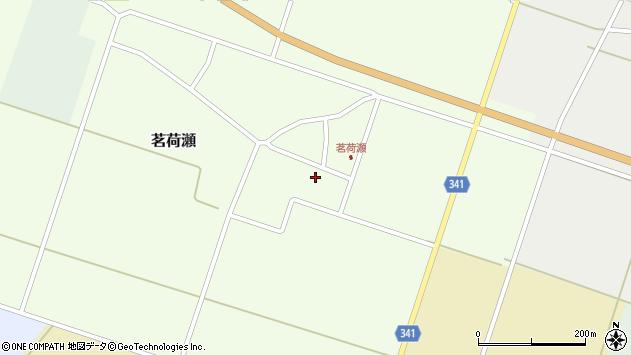 山形県東田川郡庄内町茗荷瀬岡田73周辺の地図