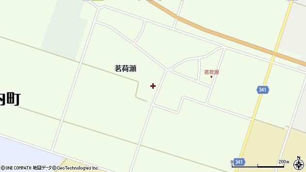 山形県東田川郡庄内町茗荷瀬岡田52周辺の地図