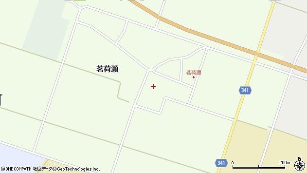 山形県東田川郡庄内町茗荷瀬岡田62周辺の地図