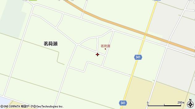 山形県東田川郡庄内町茗荷瀬岡田72周辺の地図
