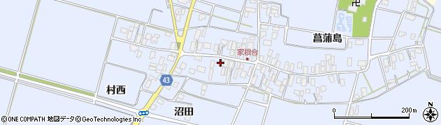 山形県東田川郡庄内町家根合菖蒲島143周辺の地図