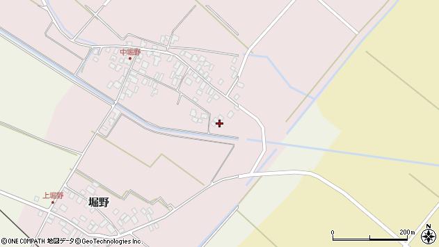 山形県東田川郡庄内町堀野中堀野110周辺の地図
