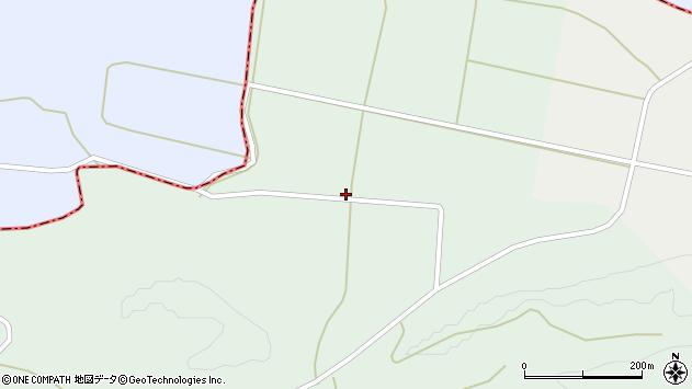 山形県最上郡鮭川村京塚4512周辺の地図