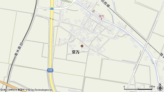 山形県東田川郡庄内町常万常岡13周辺の地図