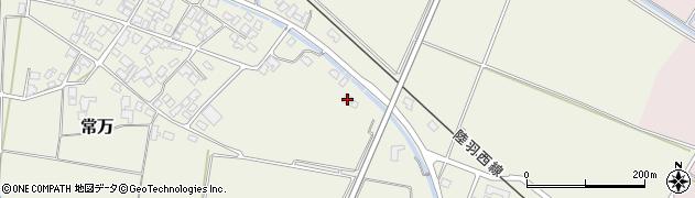 山形県東田川郡庄内町余目新田樋向29周辺の地図