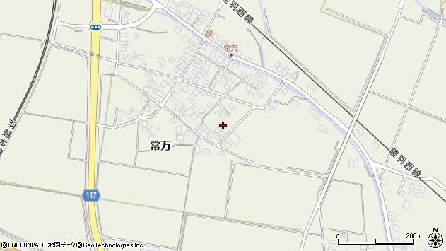 山形県東田川郡庄内町常万常岡38周辺の地図