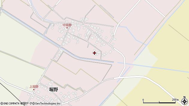山形県東田川郡庄内町堀野上堀野107周辺の地図