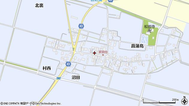 山形県東田川郡庄内町家根合菖蒲島144周辺の地図