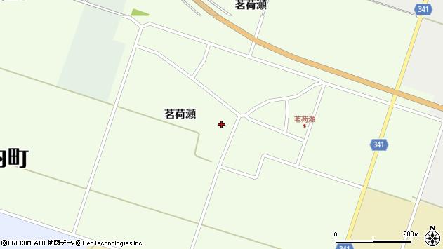 山形県東田川郡庄内町茗荷瀬岡田51周辺の地図