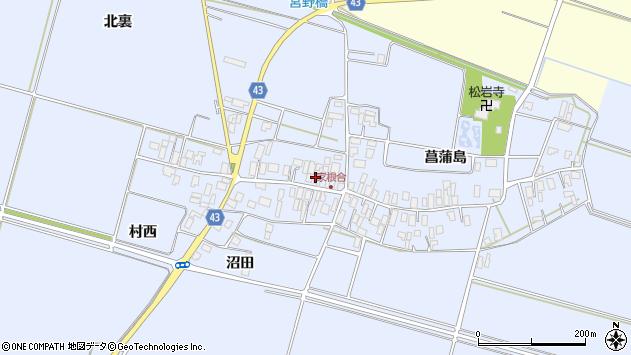 山形県東田川郡庄内町家根合菖蒲島139周辺の地図