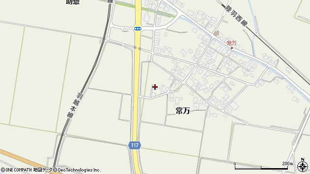 山形県東田川郡庄内町常万屋敷田51周辺の地図