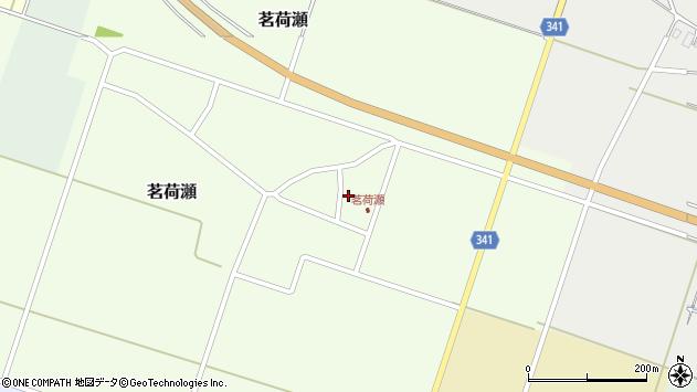 山形県東田川郡庄内町茗荷瀬岡田210周辺の地図