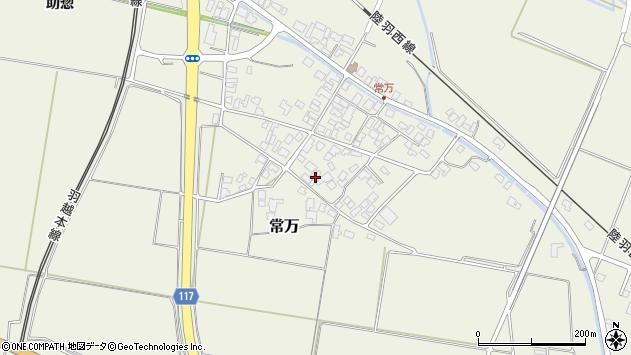 山形県東田川郡庄内町常万常岡54周辺の地図