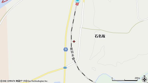 山形県最上郡鮭川村石名坂797周辺の地図