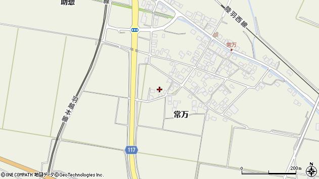 山形県東田川郡庄内町常万常岡4周辺の地図