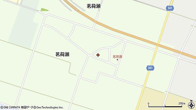 山形県東田川郡庄内町茗荷瀬岡田77周辺の地図