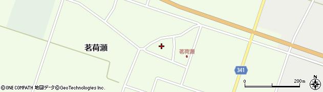 山形県東田川郡庄内町茗荷瀬岡田79周辺の地図